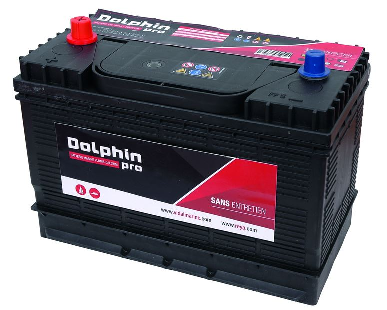 Batterie marine Dolphin Pro-71A/108A – Promo