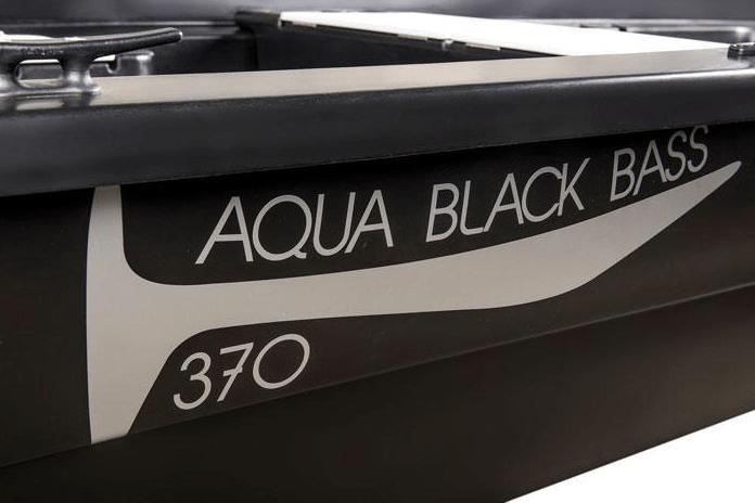 BARQUE DE PÊCHE RIGIFLEX AQUA BLACK BASS 370