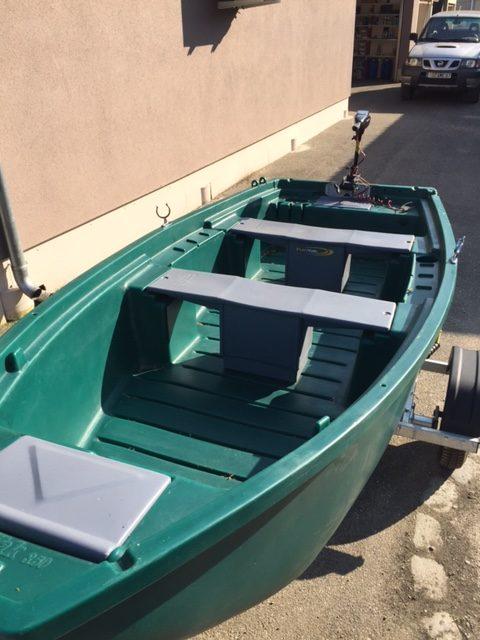 Barque de pêche FUN YAK FY350