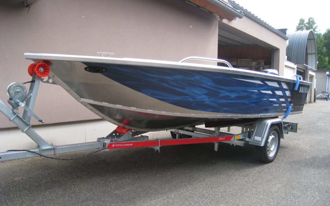 BARQUE DE PECHE ALU – BREMA 420 FISHING PLUS