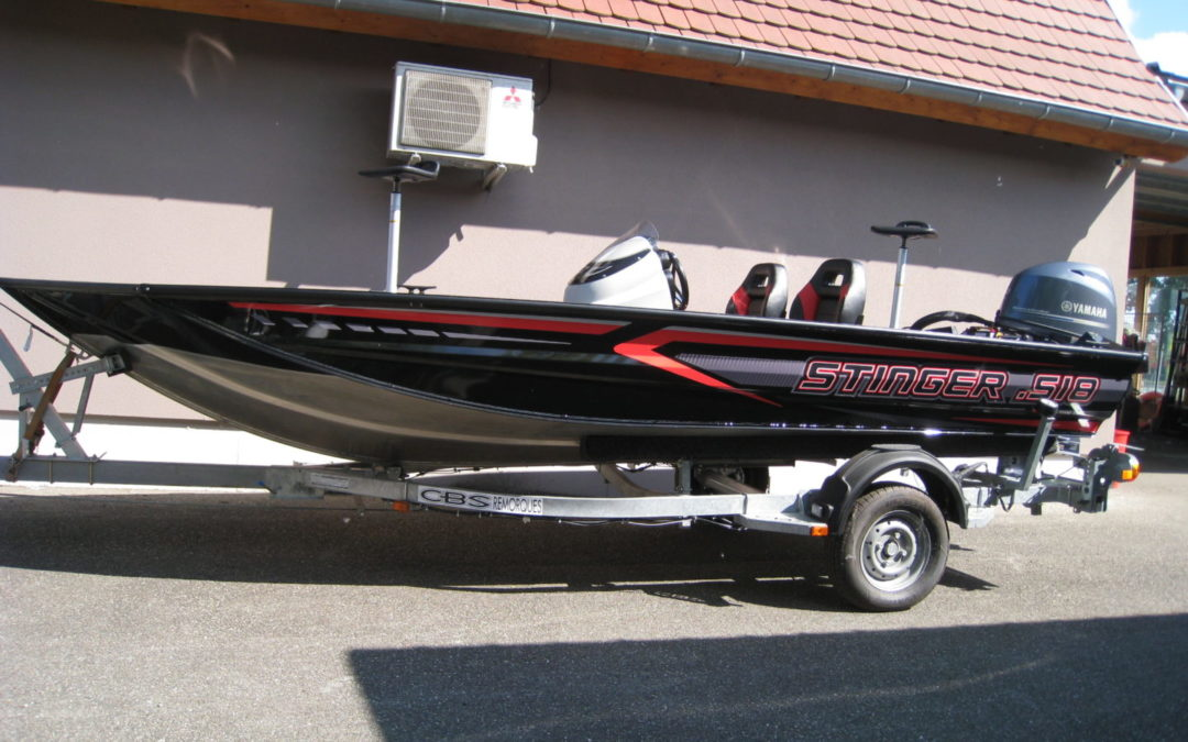 PACKAGE BASS BOAT STINGER 518