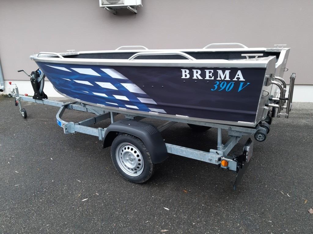 BARQUE DE PECHE ALU – BREMA 390V Fishing Plus