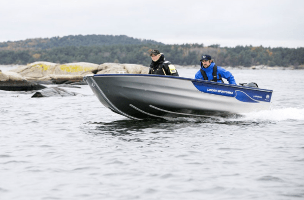 Barque de pêche alu LINDER – Sportsman 455 Basic